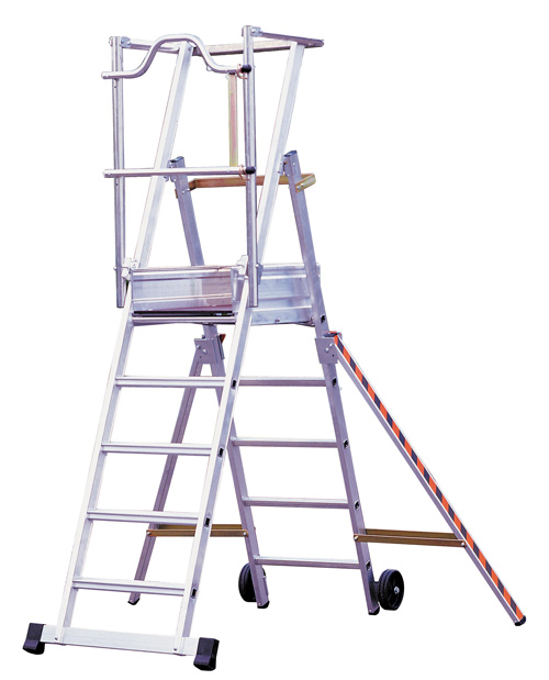 Telescoping Step Ladder : Hire step ladder m telescopic today in nottingham