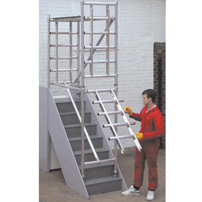 Hire Scaffolding Stairwell Tower Today In Nottingham