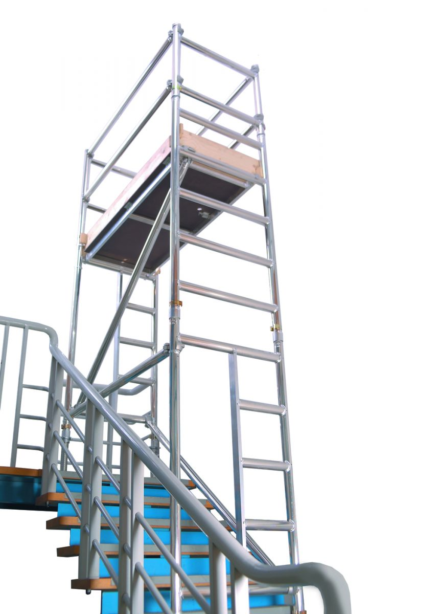 Hire scaffolding euro stair tower today in nottingham for Stair tower